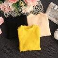 2017 trend дети ребенок одежда новорожденных девочек трикотажные свитера смесь ткань мальчик топы кардиган трикотаж Твердых