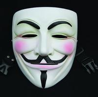 V word vendetta resin mask personalized decoration foreign trade Halloween manufacturers production wholesale collection