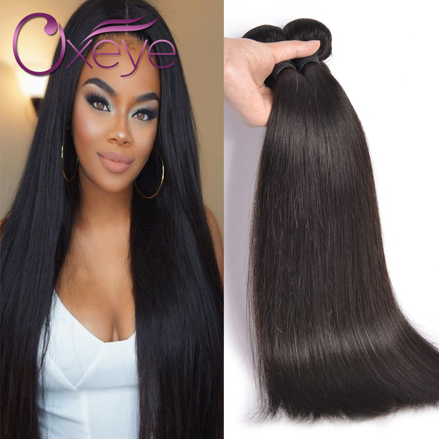 Straight perm products - 7a Brazilian Virgin Hair Straight 2 Bundles Straight Virgin Hair Human Hair Weave Unprocessed Mink Brazilian Straight Hair Oxeye