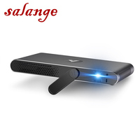 Salange A1 Laser Projector Portable 3D Full HD 1080P Android 4.4 1280*800 Bluetooth 700 ANSI Lumens WIFI 300 inch