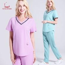 Beauty salon uniform comfortable nurse hand wash clothes doctor on duty plastic surgery hospital uniform a nurse s duty