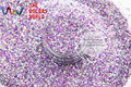 HAC2042-304 Mix Color Hexagon Shape  Glitter Sequins for nail art  DIY  and Holiday decoration