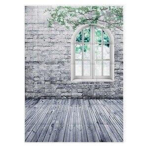 Image 3 - Allenjoy fotografie hintergrund weiße ziegel wand fenster Zweig frühling hintergrund studio kinder prinzessin mädchen econ vinyl photophone