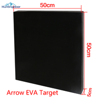 1pc Hot Sale Black EVA 50cm*5cm*50cm Archery Arrow Target for Bow Shooting Practicing or Training Outdoor Games