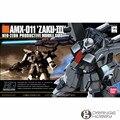 Bandai hguc 014 1/144 zaku amx-011 ohs-iii mobile suit kits modelo de montagem
