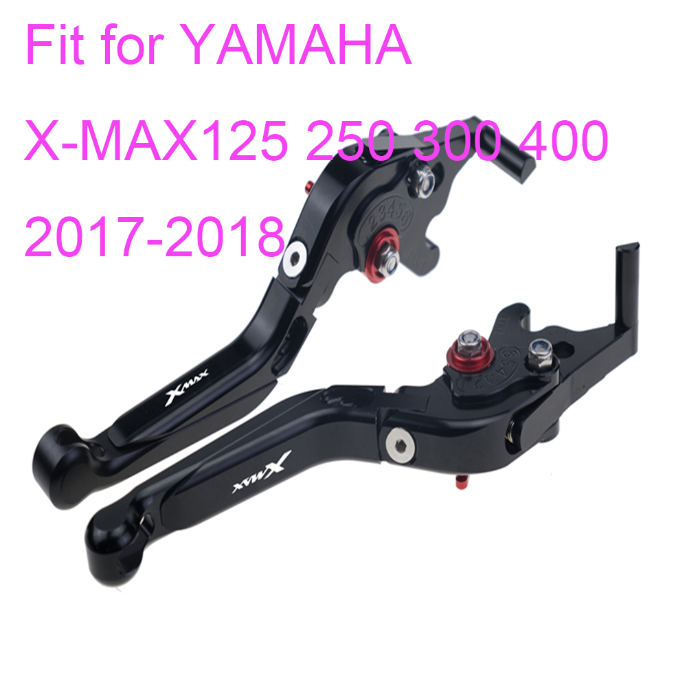 KODASKIN Left and Right Folding Extendable Brake Clutch Levers for YAMAHA X MAX XMAX 125 250 300 400 2017 2018 in Levers Ropes Cables from Automobiles Motorcycles