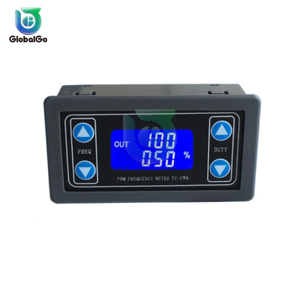 1 HZ-150 кГц ЖК-дисплей цифровой Дисплей PWM частота импульсов рабочий цикл соотношение Регулируемый квадратный волновой генератор для шаговог...