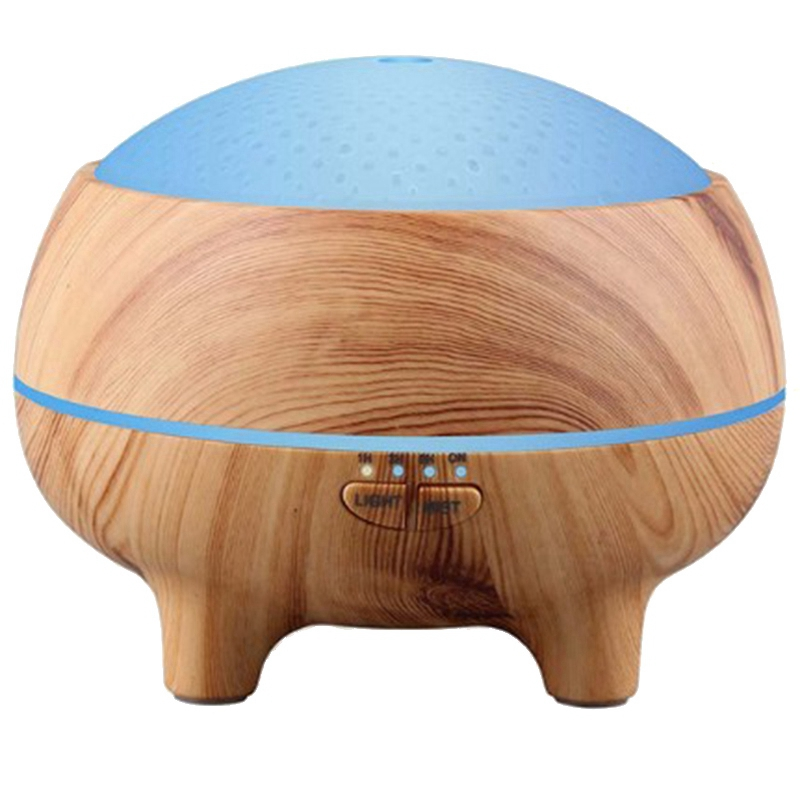 300Ml Aromatic Oil Diffuser Bluetooth Music Speaker Ultrasonic Air Humidifier 15 Color Change Led Lights thumbnail