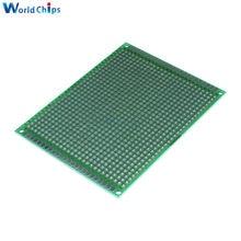 Circuit imprimé Double face universel, 2.54 2.54mm, 7x9cm, 7x9cm, pour bricolage