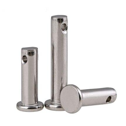 Gb882 304 Stainless Steel Dowel Pin Flat Headed