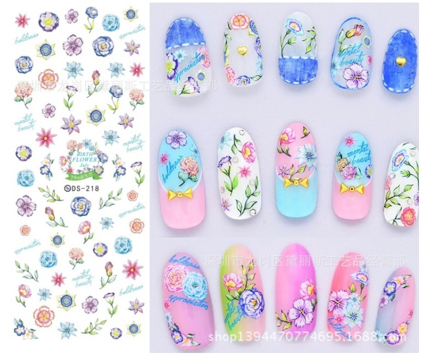 Japanese Nail Art Stickers | Best Nail Designs 2018