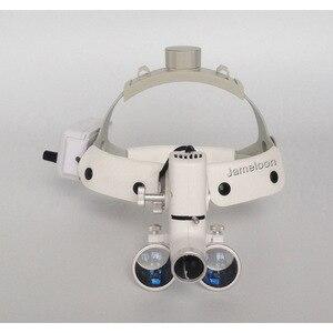 Image 3 - Lente dingrandimento chirurgica a luce led ad alta intensità 3.5 con lente dingrandimento medica