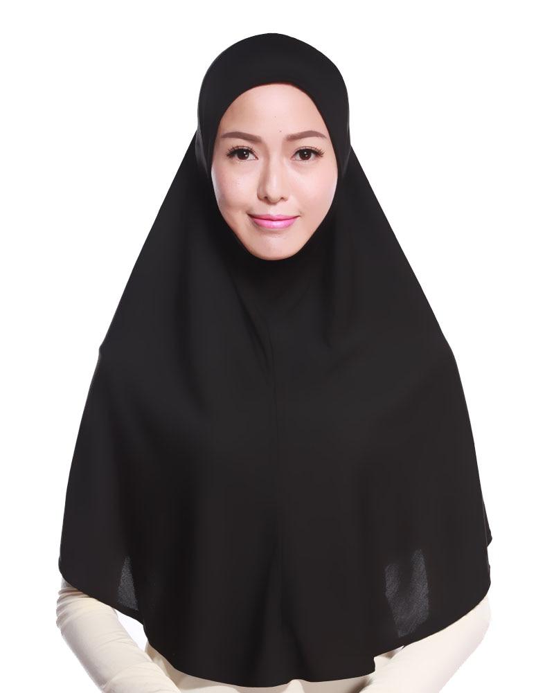 패션 크리스탈 대마 무슬림 hijab niqab 이슬람 머리 - 국립 옷