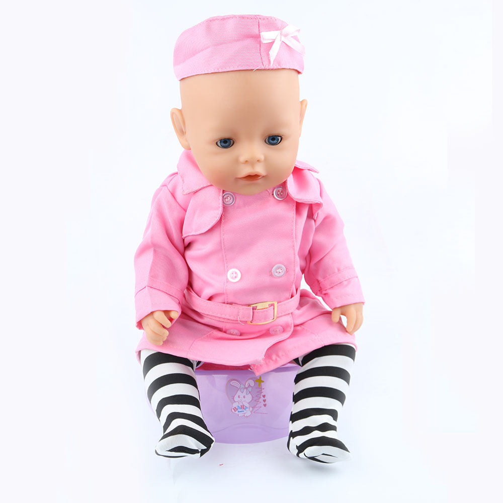 43cm Zapf Baby Born Doll Clothes All kinds of style clothes children Christmas gift free shipping the doll m04