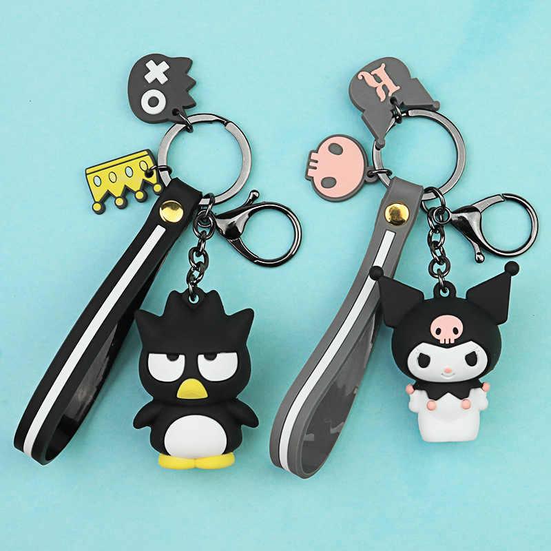 การ์ตูนเกาหลีอีพ็อกซี่พุดดิ้งสุนัข Melody ขนาดใหญ่สุนัข Cool Penguin Cool Lomi พวงกุญแจกระเป๋าจี้ของขวัญ Llaveros พวงกุญแจน่ารัก
