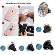 Car Phone Holder Magnetic Air Vent Mount Mobile Smartphone Stand Magnet Support Cell in Car GPS For iPhone XS Max Samsung