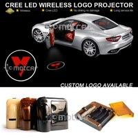 1set Car Door Welcome Light Wireless Battery Projector Laser GOBO Sydney Swans Logo Light Ghost Shadow