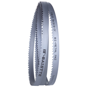"""Image 5 - Band Saw Blade (Length Customized) 1500 5000mm x 19mm x 0.9mm or 0.75""""x0.035""""Bi metal BandSaw Blade For Metal Cutting"""