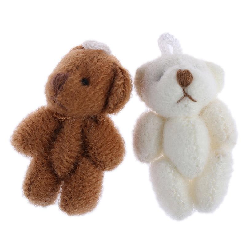 1 Pcs Mini Bär Simulation Miniatur Tier Modell Spielzeug Puppenhaus Dekoration 1/12 Puppenhaus Miniatur Zubehör