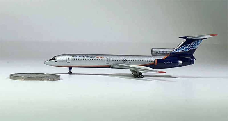 1:500 Aeroflot-Nord TU-154 RA-85365 Russian Airline Metal Scale Static Exquisite Simulation Aircraft Model Toy Boy Gift