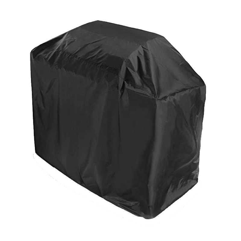 XL Waterproof BBQ Cover BBQ Accessories Grill Cover Anti Dust Rain Gas Charcoal Electric Barbeque Grill Protection Outdoor Black