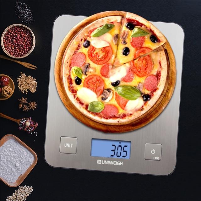 Digital stainless steel 5kg/1g scale