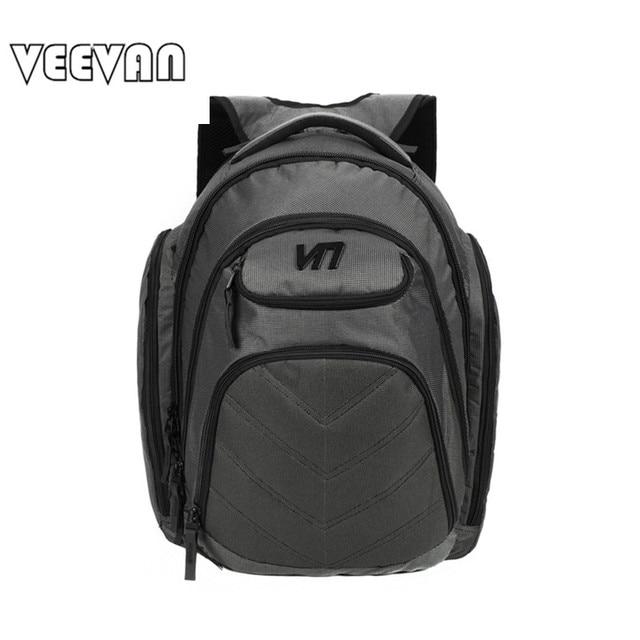 VEEVAN Brands Fashion Designer Men's Business Backpack Laptop Notebook Backpack Waterproof Travel Bag School Shoulder Bag Nylon
