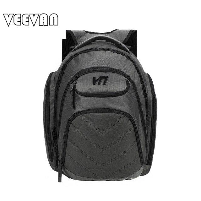 VEEVANV Brands Fashion Designer Men's Business Backpack Laptop Notebook Backpack Waterproof Travel Bag School Shoulder Bag Nylon