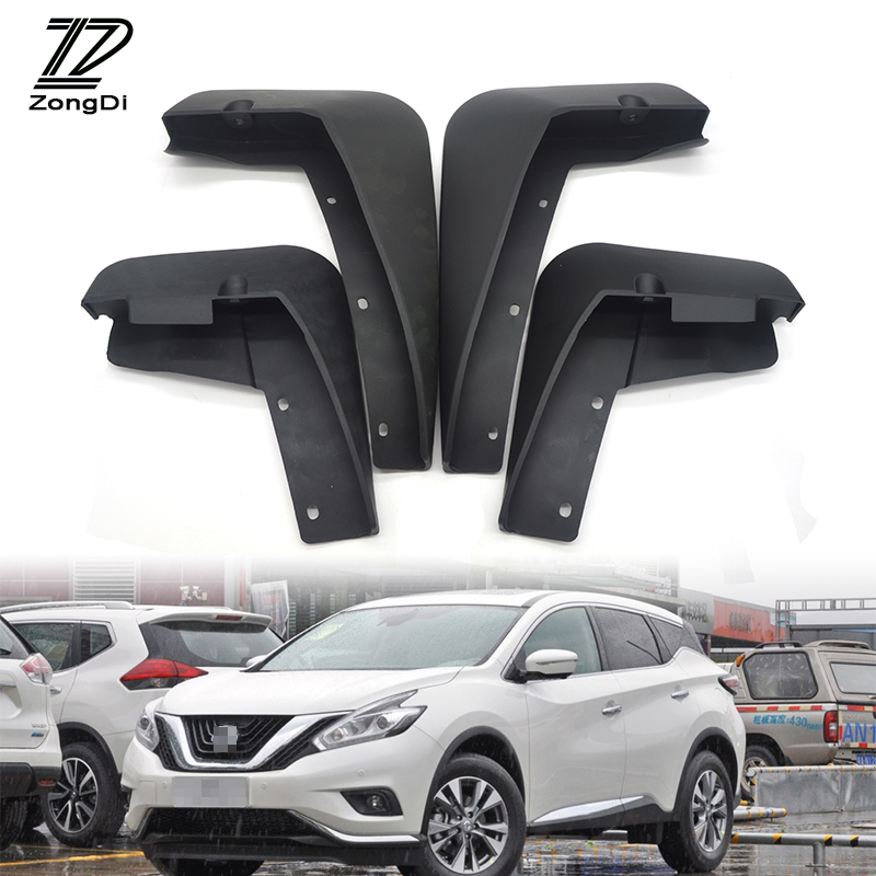 2017 Nissan Murano Exterior: ZD Car Front Rear Mudguards For Nissan Murano Z52 2015
