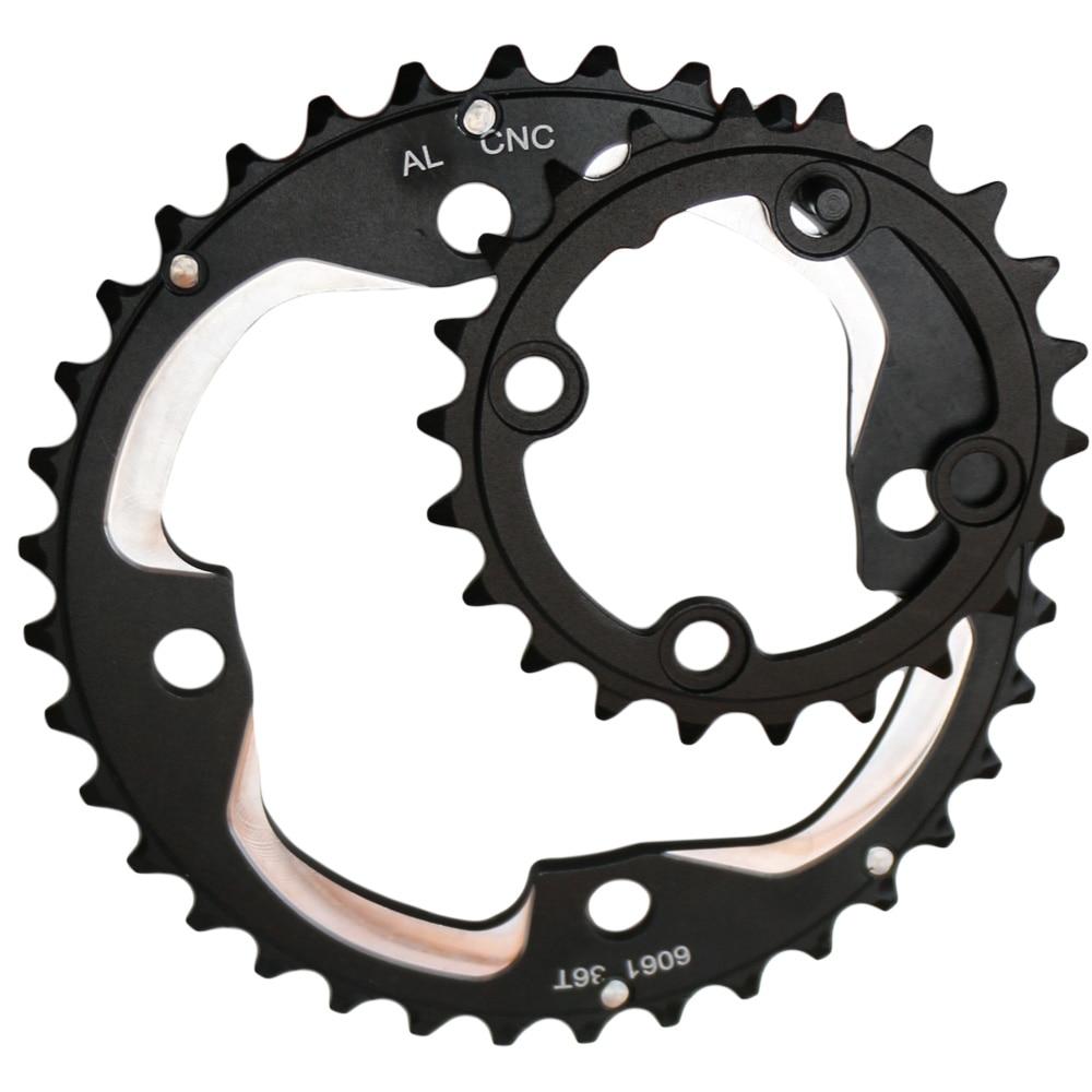 BICYCLE STEEL CHAINWHEEL CRANK SET 48//38//28T CRUISER LOWRIDER BMX MTB ROAD