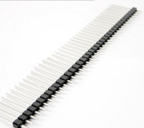 5 Pcs 1*40 40Pin 2.54mm 20mm Long Header Pin Male Breakable Pin Header