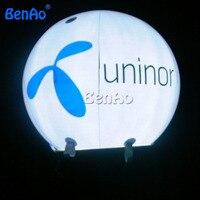 HB06 BENAO PVC משלוח חינם DHL מואר הליום בלון ולוגו עבור משלוח 3 m & 100% משוב חיובי