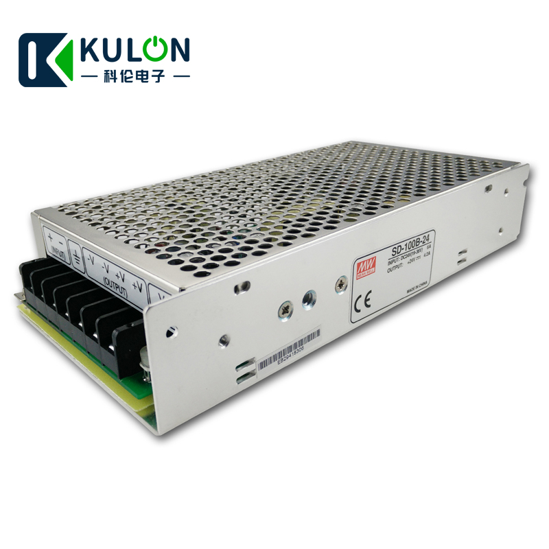 Original MEAN WELL SD-100B-24 Single Output 100W 4.2A 24V Input 19-36VDC meanwell dc/dc converter