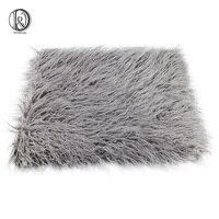 75 50cm Faux Fur MONGOLIAN FUR Blanket Basket Stuffer Photography Props Newborn Photography Props