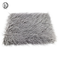 75 50cm Faux Fur MONGOLIAN FUR Blanket Basket Stuffer Photography Props Newborn Photography Props