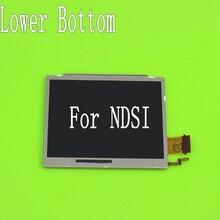 YuXi piezas de reparación de cambio de pantalla LCD, parte inferior Original, para Nintendo DSi, NDSI, pantalla LCD