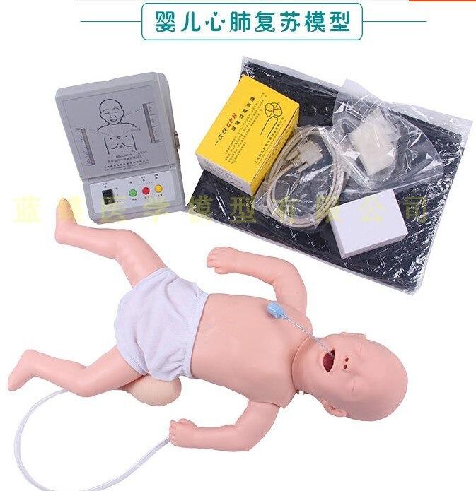 CPR160 simulation de réanimation cardiopulmonaire infantile (rcr) du modèle de réanimation médicale humaine chez les enfants