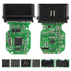 Мини vci V16.00.018 Techstream OBD2 сканер Интерфейс для TOYOTA FTDI FT232RQ MINI VCI J2534 OBDII OBD2 диагностический кабель Кабели и коннекторы для диагностики авто      АлиЭкспресс