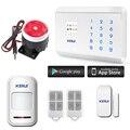 Wi-fi câmera ip sistema de alarme + 99 zonas 4 opção de idioma kerui 8218g casa de segurança do sistema de alarme sem fio gsm alarme
