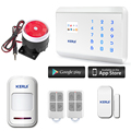 Wifi IP camera Alarm System +99 Zones 4 Language Option Wireless GSM Alarm System  Kerui 8218G House Security Alarm