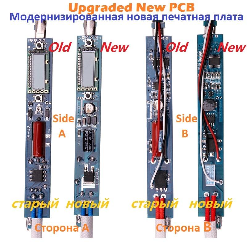 110W 836D 60W Display LCD Saldatore A-BF GS110D Stazione saldante - Attrezzatura per saldare - Fotografia 2