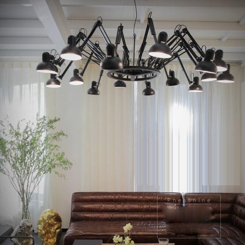 Подвесные светильники E27 G80 Ac 110/220 в ретро стиле, черные, белые, подвесные светильники для домашнего декора