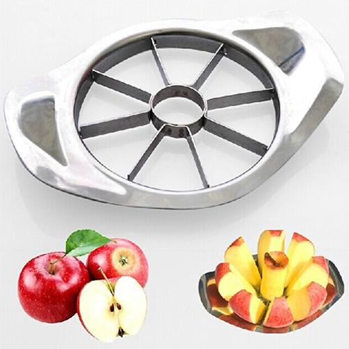 Stainless Steel Fruit Slicer Apple Corer Pear Cutters Knife Peeler Cut Tool 6YG6