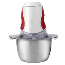 Electric Food Chopper,1.5L Glass Bowl Grinder For Meat, Vegetables, Fruits Nuts Eu Plug(China)