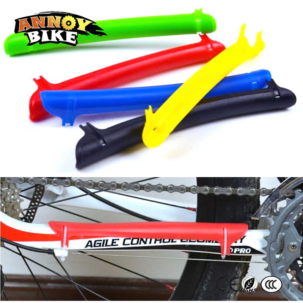 1pc MTB Bike Bicycle Outdoor Cycling Frame Chain Stay Protector Cover Guard Pad