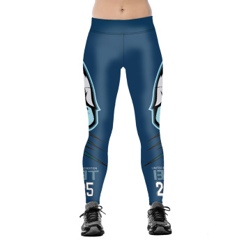 Unisex Football Team Eagles 25 Print Tight Pants Workout Gym Training Running Yoga Sport Fitness Exercise Leggings Dropshipping 1