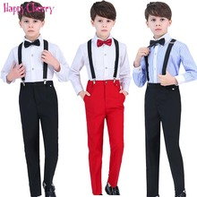 Fashion Boy Formal Suit Blazers for Weddings Prom Party Costumes Children Slim Fit Suit Sets Tuxedo Kids Pants Shirt Bow Tie 2018 summer nimble boys suits plaid formal suit for boy prom children england style suit blazers for weddings party kids tuxedos