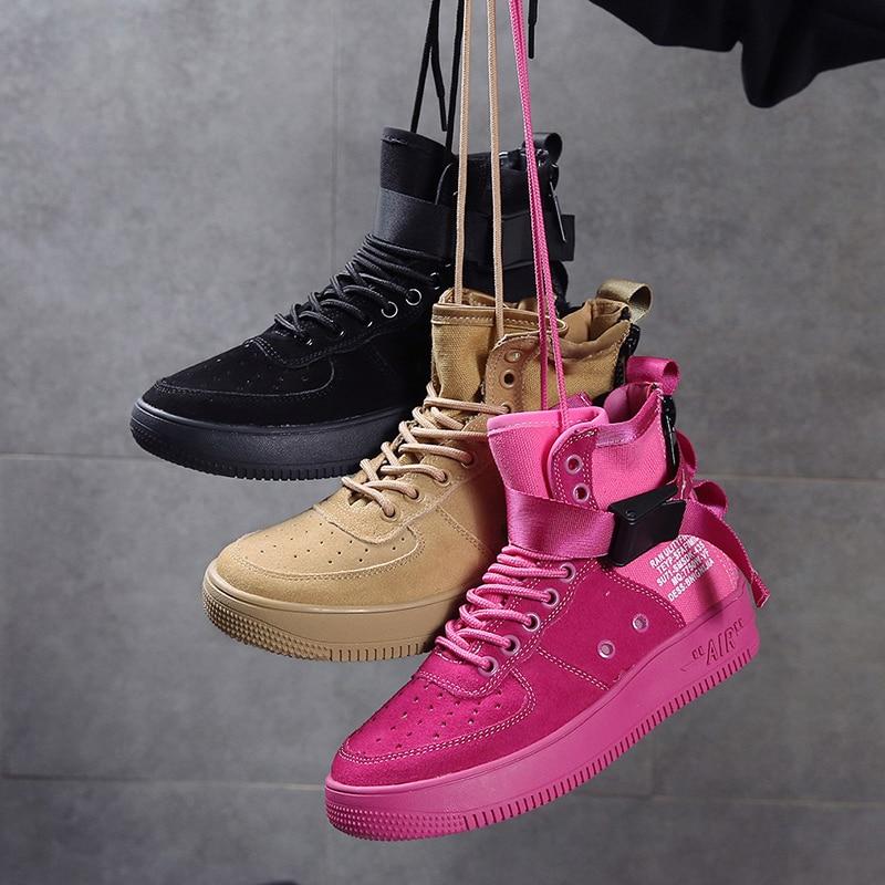 Putdoor khaki Mode pink De Appartements Noir Confortable Doux Black 2018 white Dames Rose Femmes Keloch Sneakers Chaussures Casual Air Femme Blanc wpOqtAnRU