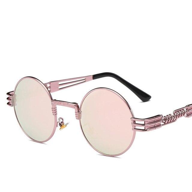 Steampunk Metal Vintage Sunglasses 3