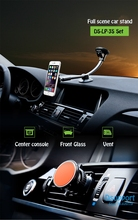 Free Shipping Dsupport Adjustable Universal Bridge Car Holder for smartphone car stand Suck Stand Magnetic Vent LP-3S